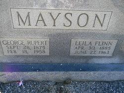 Leila Mae <i>Flinn</i> Mayson