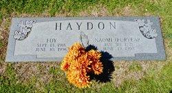 Naomi <i>Puryear</i> Haydon