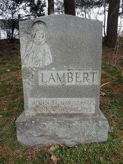 Anne Bernadine <i>Murphy</i> Lambert