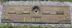 Bessie Ellen <i>McMillan</i> Fondaw