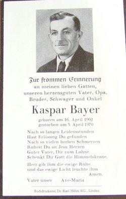 Kaspar Bayer