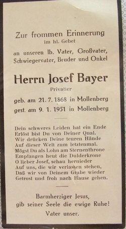 Josef Bayer