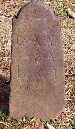 Barbara <i>Stager</i> Bach