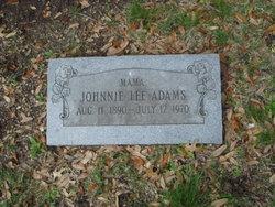 Johnnie Lee Adams