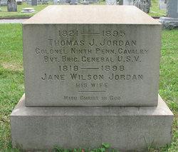 Jane <i>Wilson</i> Jordan