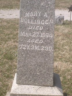 Mary Ann <i>Wirick</i> Bollinger