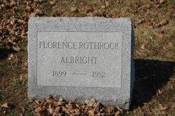 Florence Anna <i>Bridenbaugh</i> Albright