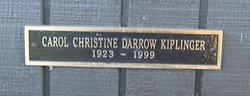 Carol Christine <i>Darrow</i> Kiplinger