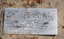William N Ackerman