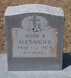 Jessie Ruth <i>Haslip</i> Alexander