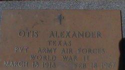 Otis Alexander