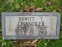 Dewitt T Chandler