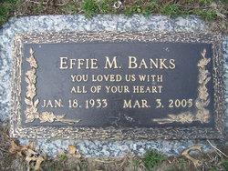 Effie Mae <i>McIntare</i> Banks