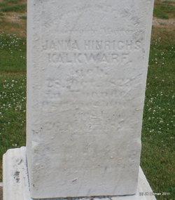 Janna Hinrichs <i>Janssen</i> Kalkwarf