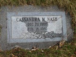 Cassandra M Nash