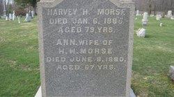 Ann H. <i>Holbrook</i> Morse