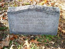 Capt William D Christian