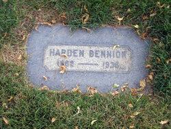 Harden Bennion