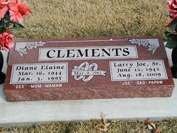 Larry Joe Clements, Sr