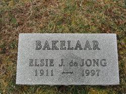 Elsie June <i>de Jong</i> Bakelaar
