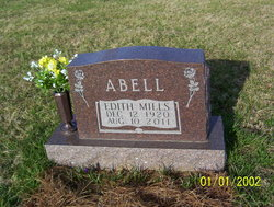 Edith <i>Mills</i> Abell