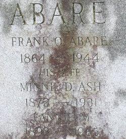 Frank Oliver Abare