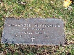 Alexander C McCormick