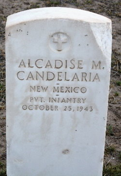 Pvt Alcadise M Candelaria
