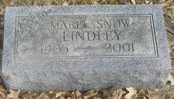 Mabel S <i>Snow</i> Lindley