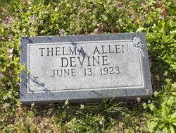 Thelma Clarine <i>Allen</i> Devine