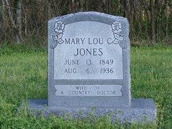 Mary Lou <i>Crabtree</i> Jones