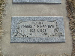 Franklin Pierce Hadlock, Sr