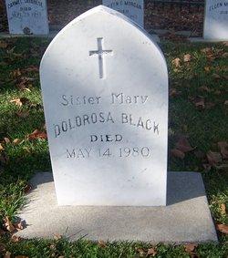 Sr Mary Dolorosa Black