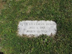 Ruth Liverman Dixon