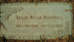 Lillie Belle Maxwell