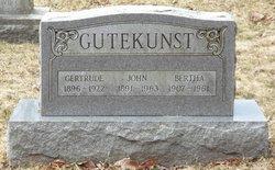 Gertrude <i>Wesner</i> Gutekunst