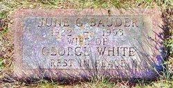 June G Bauder