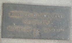 Russell D Hoggard
