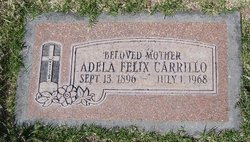 Adela <i>Felix</i> Carrillo