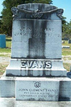 Pvt John C. Evans