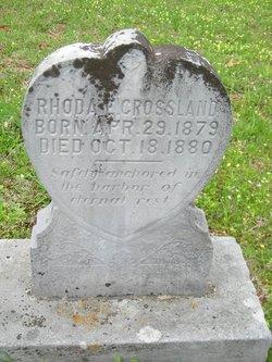 Rhoda E. Crossland