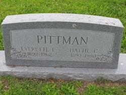 Hattie C Pittman
