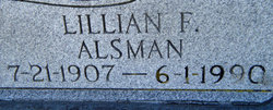 Lillian F. <i>Alsman</i> Robbins