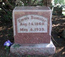 Emma May <i>Harrison</i> Banister