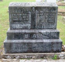 A J Blair