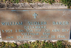 Sgt William Sudler Baker
