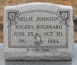 Nellie Johnson <i>Rogers</i> Bourkard