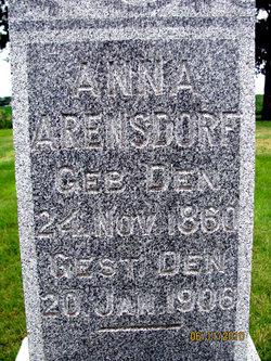 Anna Arensdorf