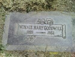 Winnie Mary <i>Prince</i> Goodwill