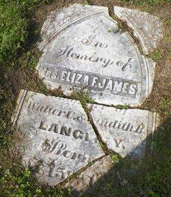 Eliza F James